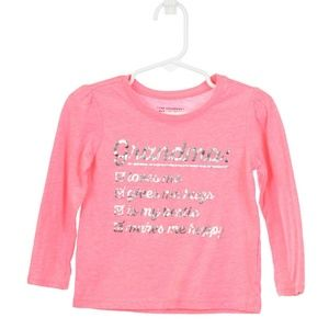 The Children's Place Pink Graphic Grandma T-Shirt